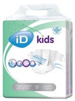 Подгузники для детей iD kids 11-25кг 92шт/уп