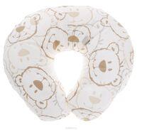 Plantex Подушка для кормящих и беременных мам Comfy Small Мишка цвет белый коричневый