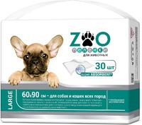 Пеленки ZOO для животных 60х90см 30шт/уп
