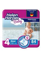 Детские подгузники Helen Harper BABY MAXI 7-14 кг 84 шт