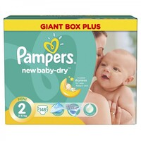 Подгузники Pampers New Baby 2 (3-6 кг) 148 шт.