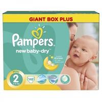 Подгузники Pampers New Baby 2 (3-6 кг) 148 шт.