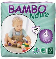 Детские подгузники BAMBO nature 4 maxi 7-18 кг 30 шт
