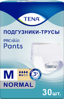 Подгузники-трусы Тена нормал размер М 30 шт/уп