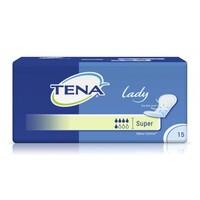 Тена Леди Супер / Tena Lady Super - урологические прокладки для женщин, 15 шт.