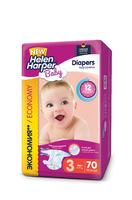 Детские подгузники Helen Harper BABY MIDI 4-9 кг, 70 шт.