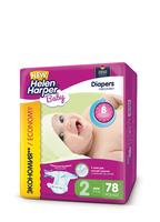 Детские подгузники Helen Harper BABY MINI 3-6 кг 78 шт