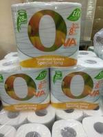 Туалетная бумага OVA 3 слоя, 8 рулонов