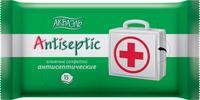 Влажные салфетки Акваэль антисептические 15 шт