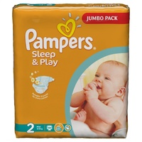 Подгузники Pampers Sleep & Play Mini 3-6 кг, 88шт.
