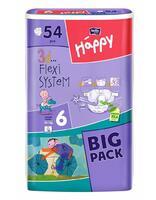 Детские подгузники Белла Хеппи 16+ кг 54 шт