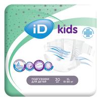 Подгузники для детей iD kids 15-30кг 30шт/уп