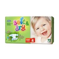 Детские подгузники Helen Harper soft & dry maxi 7-18 кг 96 шт
