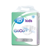 Подгузники iD kids XL 15-30кг 84шт/уп
