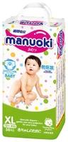Manuoki Детские подгузники трусики XL (12+ кг) 38 шт.