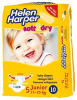 Helen Harper Soft & Dry Junior (15-25 кг) 10шт