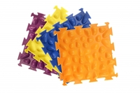 Массажный коврик «Цветные камешки» М-516 Жесткие