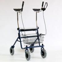 Опоры-ходунки подлокотные на 4-х колесах LK7010