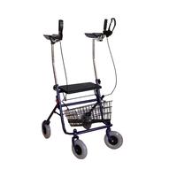 Опоры-ходунки подлокотные на 4-х колесах